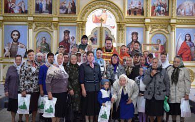 В селе Большая Лука отметили престольный праздник.