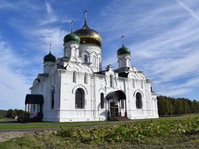 Свято-Троицкий храм села Липяги